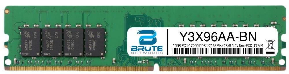 Equivalent to OEM PN # J9P84AA 32GB PC4-17000 DDR4-2133Mhz 4Rx4 1.2v ECC LRDIMM Brute Networks J9P84AA-BN